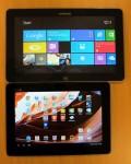 """Samsung XE500T 11,6"""" og Asus TF300 10,1"""""""