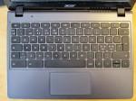 Acers Chromebook-tastatur