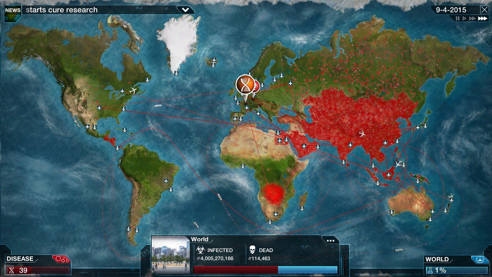Plague Inc: Evolved – Hva kan du lære av å utrydde kloden for mennesker?