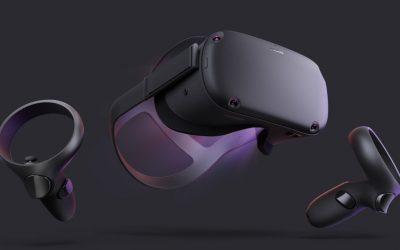 Oculus Quest inntar VR-tronen
